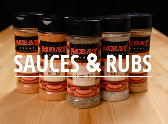 Meat Lodge - Sauces & Rubs